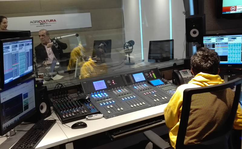 """RADIO AGRICULTURA"" CHOOSES TECHNOLOGY FROM AEQ FOR ITS NEW STUDIOS"