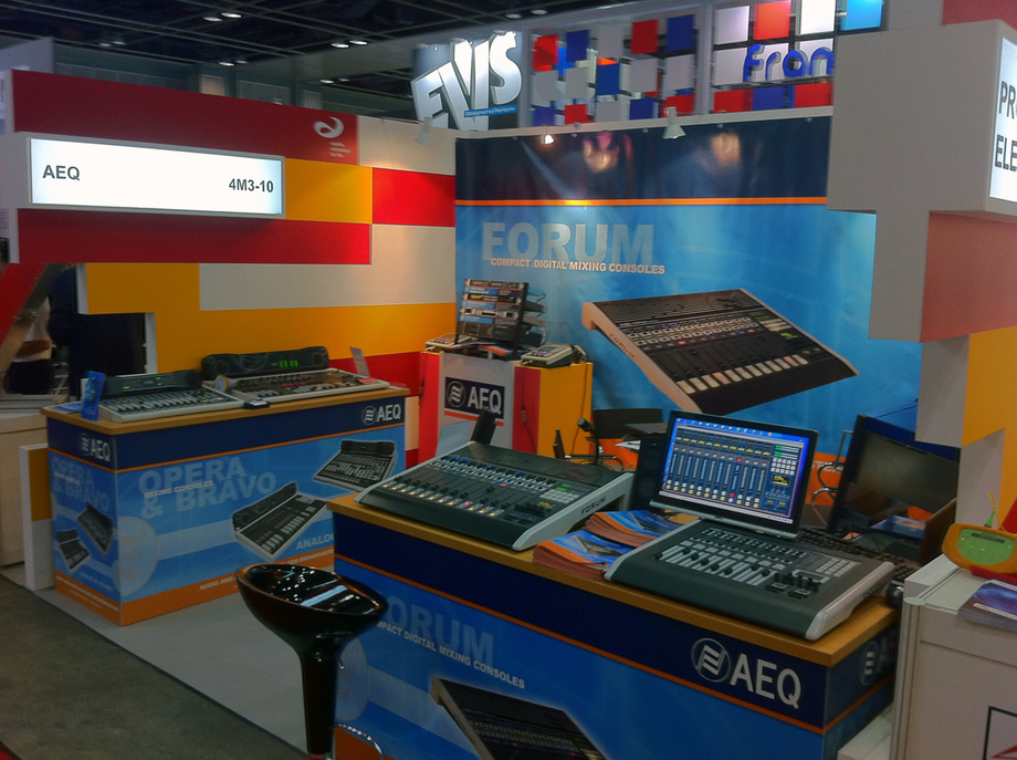 AEQ INTRODUCES NEW PRODUCTS AT BROADCASTASIA 2012
