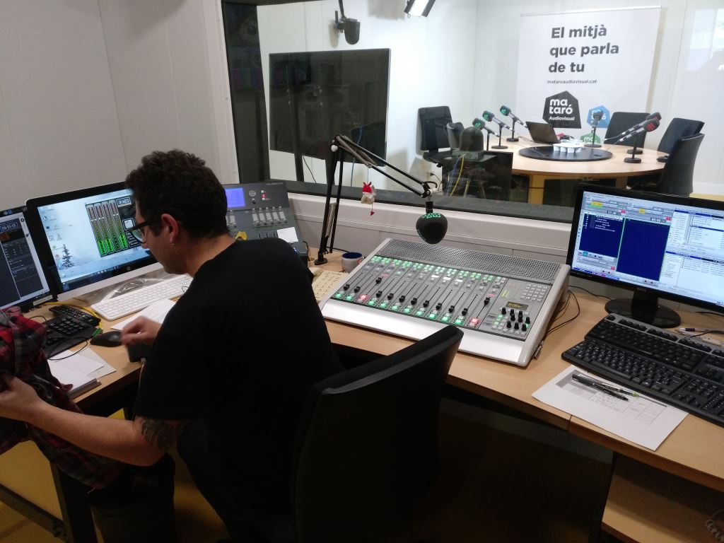 AEQ USA - Mataró Ràdio renews its equipment using AEQ DANTE